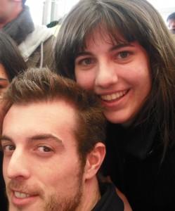 Miquel Barberà, un dels protagonistes de l'Alqueria Blanca, i jo